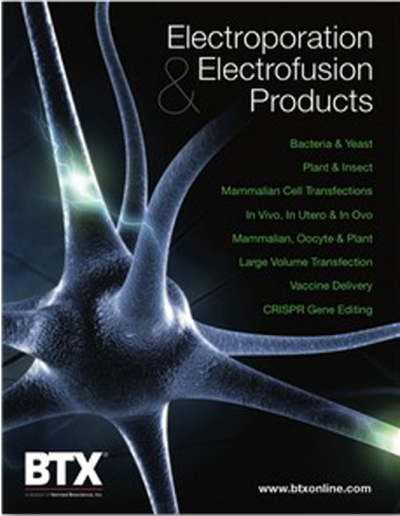 BTX Electroporation & Transfection Catalog