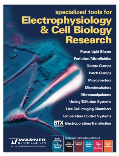 Electrophysiology & Cell Biology Catalog